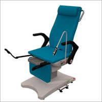 GYN Examination Chairs With Blue Upholstery