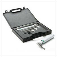 Laryngoscope Satin Fiber Optic Laryngoscope Set