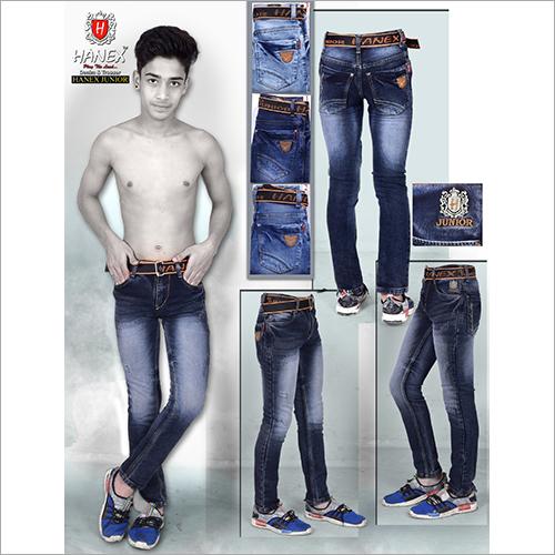 Boys Stretchable Denim Jeans