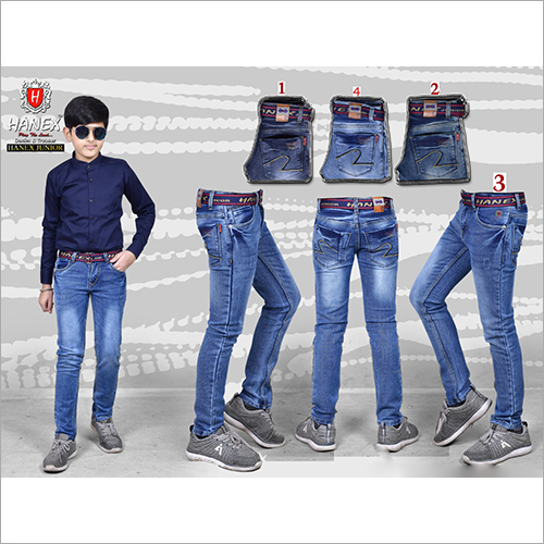 Boys Plain Denim Jeans