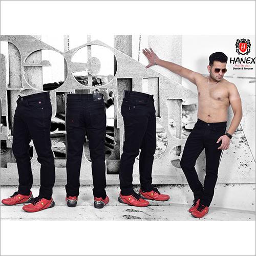 Mens Stretchable Black  Jeans