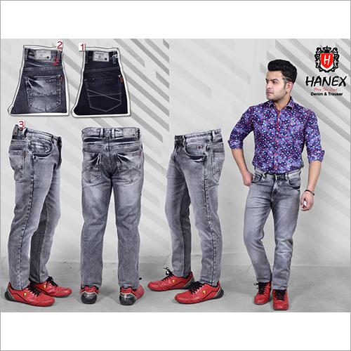 Mens Regular Fit Denim Jeans