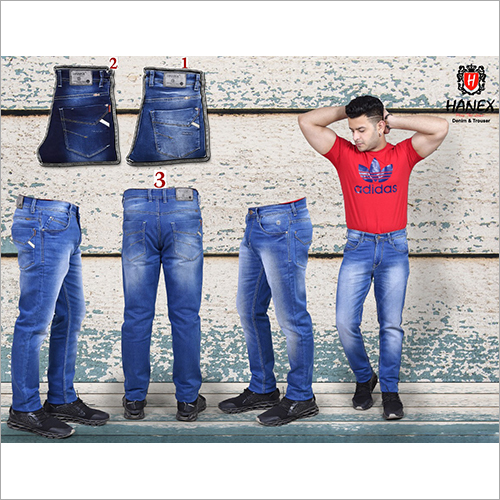 Mens Partywear Light  Blue Jean