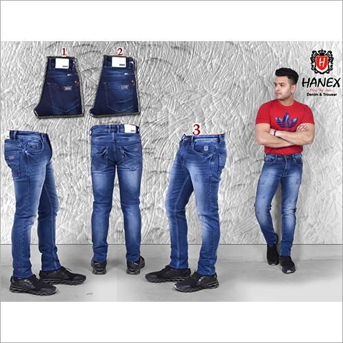 Mens Partywear Modern Denim  Jean