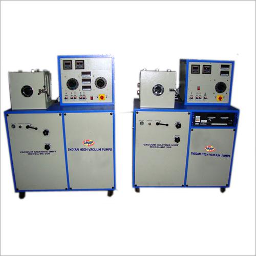 India High Vacuum Coating Unit