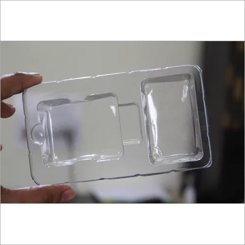 PVC mobile charger tray blister