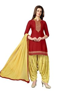 Cotton Resham Embroidery Suit (G28)