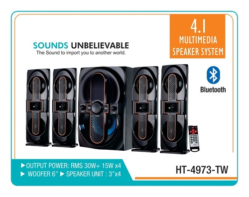 5.1 Multimedia Speakers System