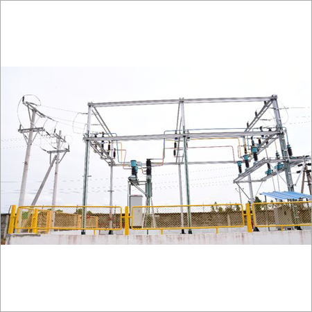 11 Kv Or 33 Kv Electrical Substation Yard