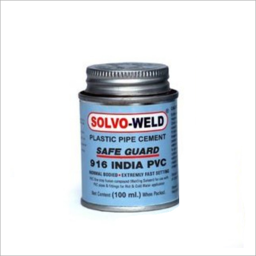 100 ml PVC Solvent Cement Adhesive