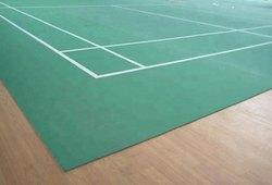 Indoor Synthetic Badminton Court Mat