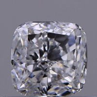 0.55ct Diamond E VS1 IGI Certified Lab Grown HPHT SQUARE CUSHION MODIFIED BRILLIANT CUT TYPE2