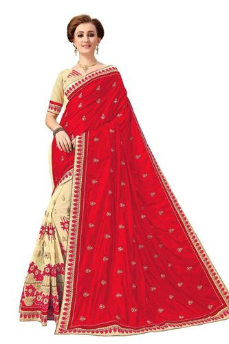 Embroidery Georgette Saree(NH.K791)