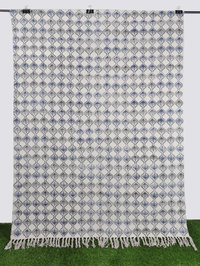 Cotton Handblock Printed Rug