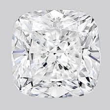 0.57ct Diamond F SI1 IGI Certified Lab Grown HPHT SQUARE CUSHION MODIFIED BRILLIANT CUT TYPE2A
