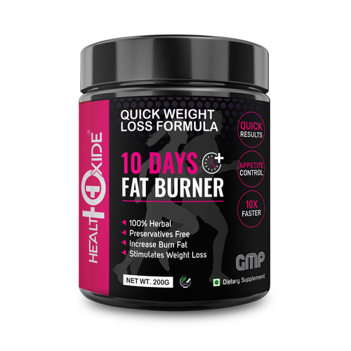 10 days fat burner
