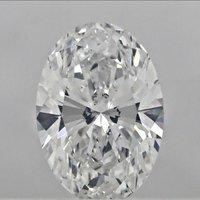1.00ct Diamond G SI1 IGI Certified Lab Grown CVD OVALBRILLIANT CUT TYPE2A