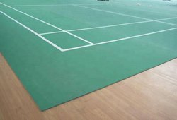 Indoor Badminton Court Flooring