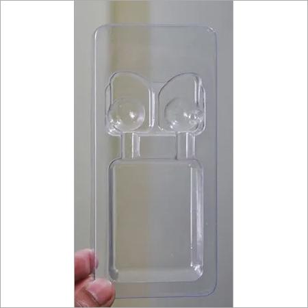 Earphone tray blister