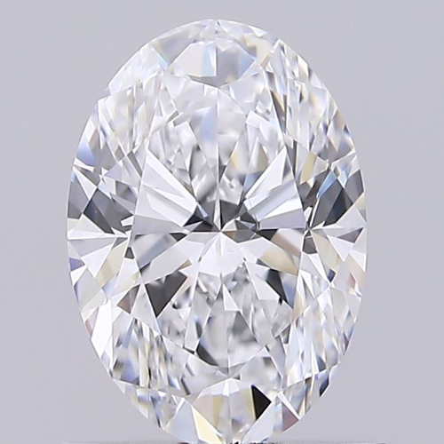 1.01ct Diamond D VS1 IGI Certified Lab Grown HPHT OVAL BRILLIANT CUT TYPE2