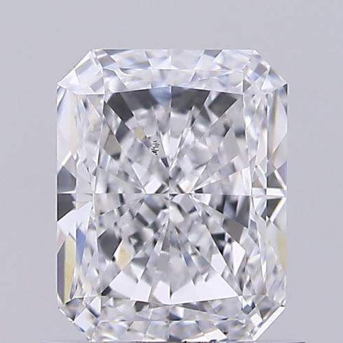 1.04ct Diamond E VS2 IGI Certified Lab Grown CVD Radiant BRILLIANT CUT TYPE2A