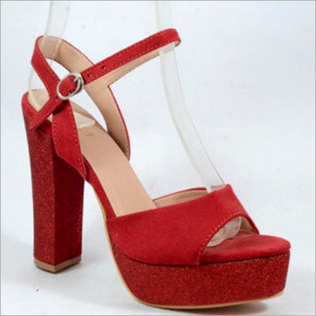 Block High Heel Sandal