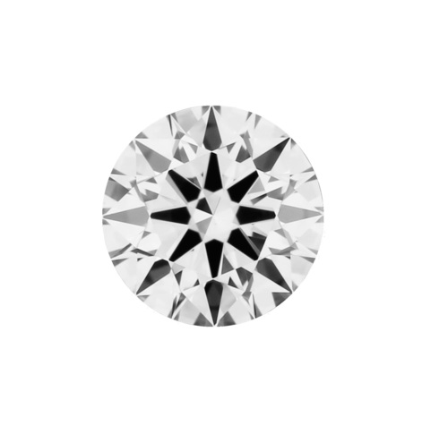 1.55ct Diamond I VS2 IGI Certified Lab Grown CVD ROUND BRILLIANT CUT TYPE2A