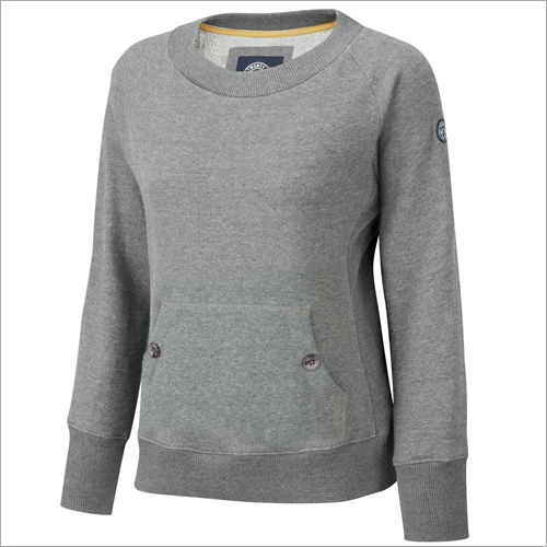 Ladies Plain Sweatshirt