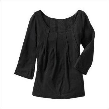 Ladies Black Tops