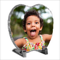 Apple Shape Stone Photo Frame