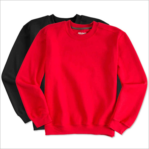 Mens Plain Sweatshirt