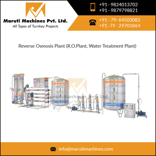 Automatic 1000 ltr/hr Mineral Water Plant
