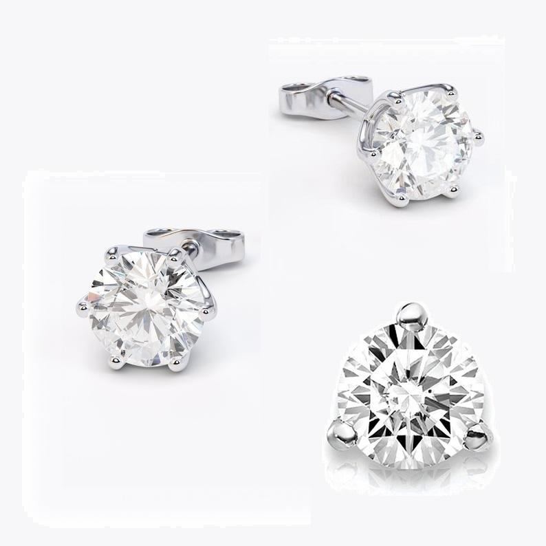 2.01ct Diamond I SI2 IGI Certified Lab Grown CVD ROUND BRILLIANT CUT TYPE2A