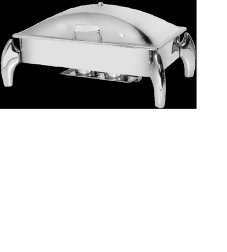 Rectangular Chafing Dish With Fancy Legs ( Lift Top )