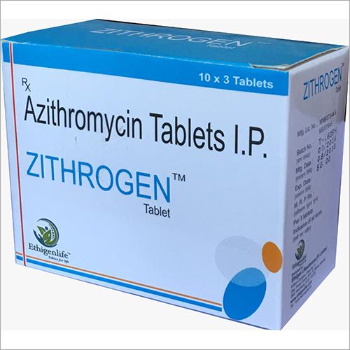500 mg Azithromycin Tablets IP