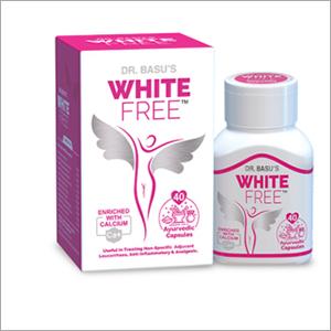 White Free Ayurvedic Capsule