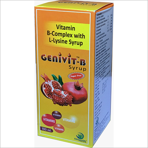 100 ml Vitamin B-Complex With L- Lysine Syrup