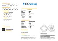 3.00ct Diamond K SI1 IGI Certified Lab Grown CVD ROUND BRILLIANT CUT TYPE2A