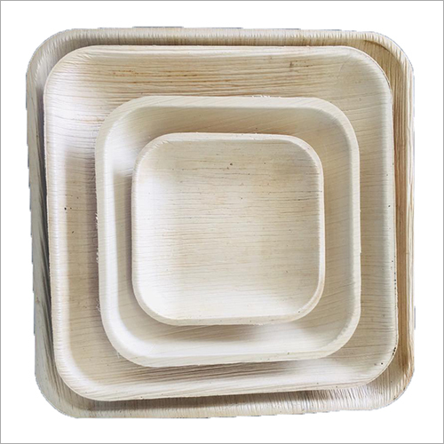 Areca Nut Leaf Square Plate