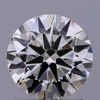1.56ct Diamond K VS2 IGI Certified Lab Grown CVD ROUND BRILLIANT CUT TYPE2A