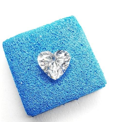 1.02ct Diamond H VS2 IGI Certified Lab Grown CVD HEART BRILLIANT Cut TYPE2A