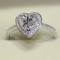 1.02ct Diamond H VS2 IGI Certified Lab Grown CVD HEART BRILLIANT Cut TYPE2A