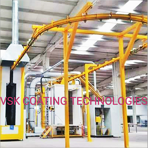 Conveyaraised Coating Plant