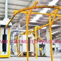 Conveyaraised Coating Plant