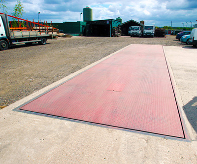 Pit weighbridge