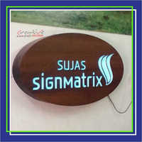 CNC Cutting 3D Letters Glow Sign Board