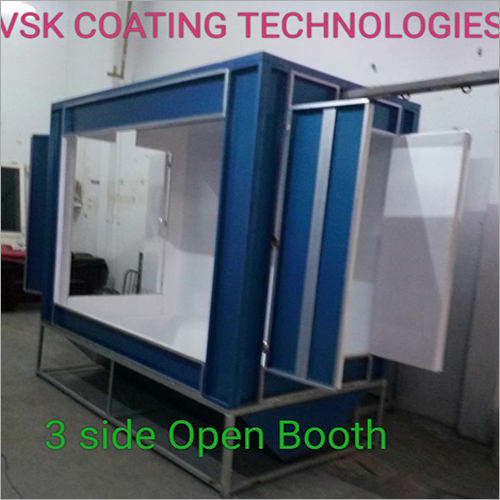 Three Side Open Booth