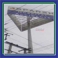 High Mast Outdoor Signage
