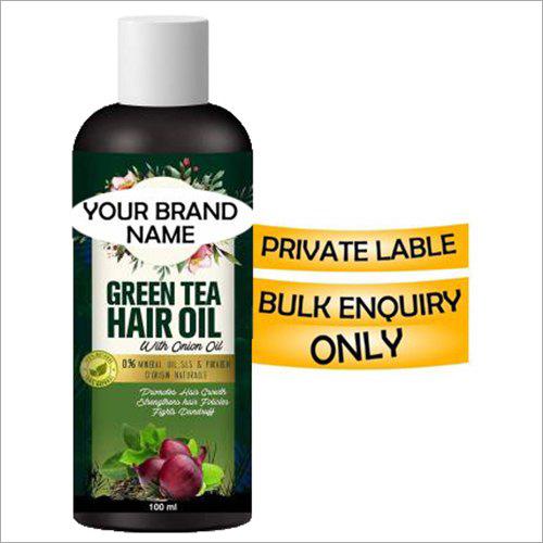 Green Tea Hair Oil