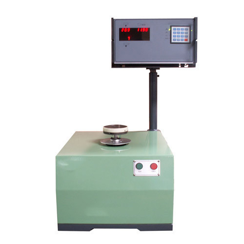 Measuring System For Single Plane Vertical Balancing Machines